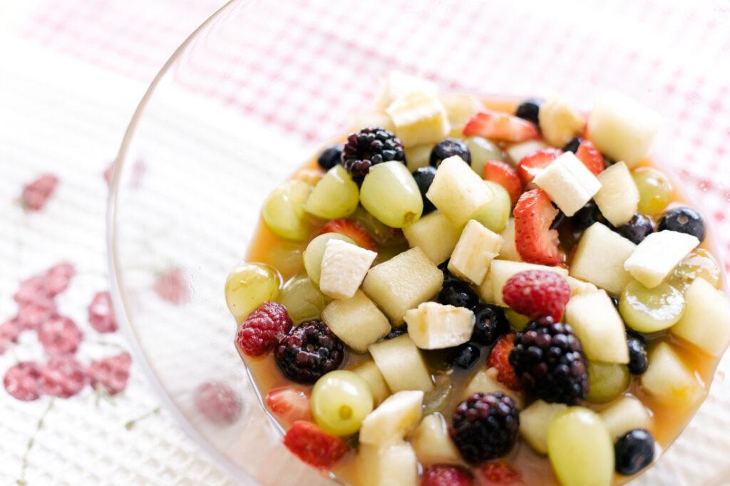 Salada de Frutas com Melado e Nuts