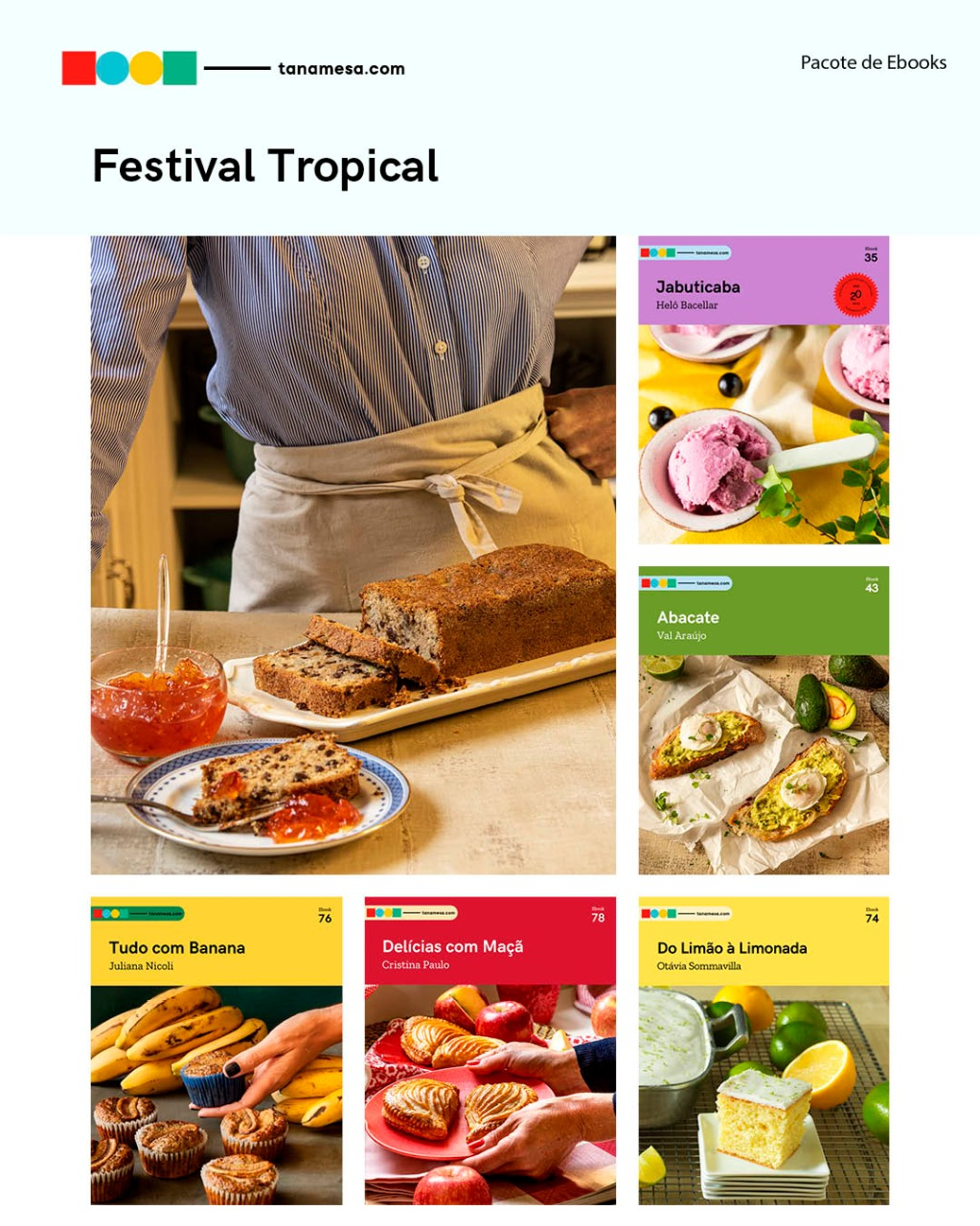 KIT Festa Tropical