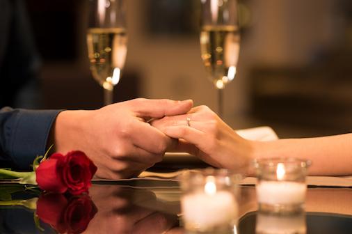 Prepare um jantar romântico