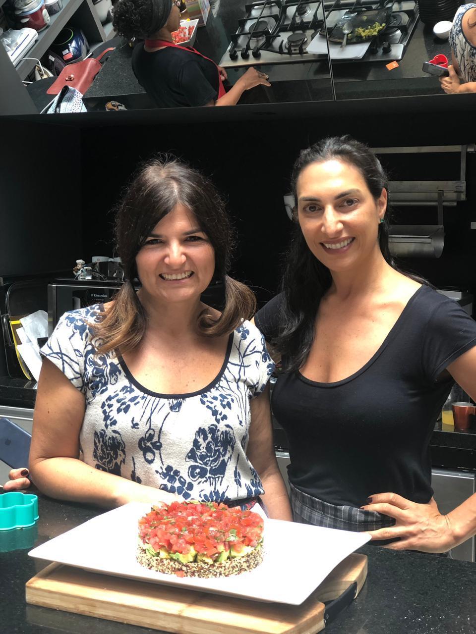Tatiana Ferraz e Andrea Aidar