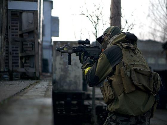 Keep calm & reload. Aim. Shoot again.