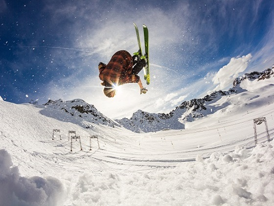 You won't get hurt skiing if you don't fall