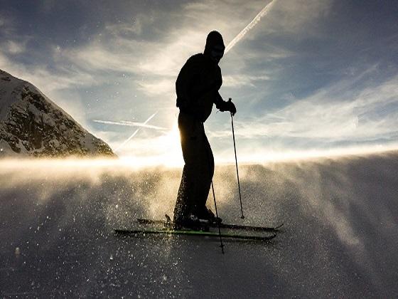 When life gets hard, I go skiing