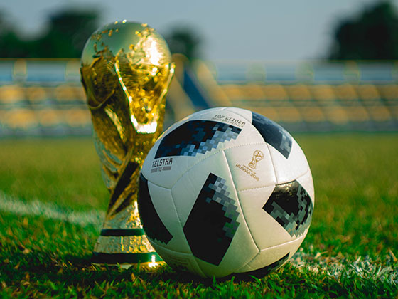 There are two types of football – there's physical football and football talent.
