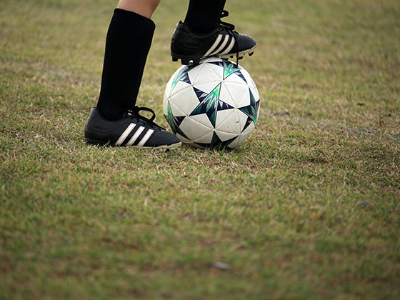 Football is a sport you play with the most disobedient part of the body: the foot.
