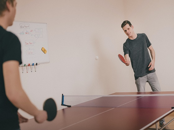 Table Tennis is like an atom. To the ignorant it is merely microscopic and insignificant in existance, but to the dedicated, it is intricate in design and the building block to everything we know.