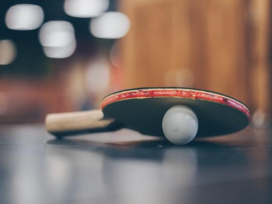 I'm an extra dark black belt in ping pong.
