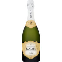 Korbel Champagne, Brut, California, 750 Millilitre