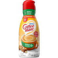 Coffee-Mate Coffee Creamer, Zero Sugar, Hazelnut, 32 Fluid ounce