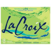 LaCroix Sparkling Water, Lime, 12 Each