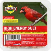 Audubon Park Wild Bird Food, High Energy Suet, 11.75 Ounce