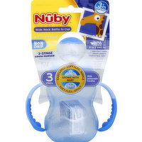 Nuby Bottle to Cup, Wide Neck, 3 Grow Nurser, 3m+, 8 ounce, 1 Each