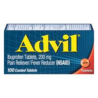 Advil Ibuprofen, 200 mg, Coated Tablets, 100 Each