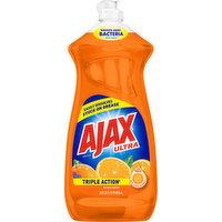 Ajax Dish Liquid/Hand Soap, Orange, Triple Action, 28 Ounce
