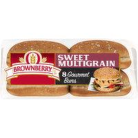 Brownberry Gourmet Buns, Sweet Multigrain, 8 Each