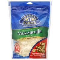 Crystal Farms Cheese, Mozzarella, Low Moisture Part-Skim, 8 Ounce