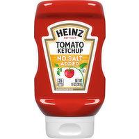 Heinz Tomato Ketchup, No Salt Added, 14 Ounce