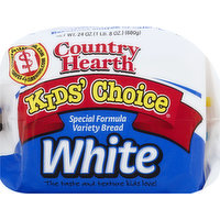 Country Hearth Bread, Variety, White, Special Formula, 24 Ounce