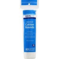 Equaline Cotton Rounds, Premium, 80 Each
