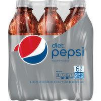 Pepsi Soda, Diet, 6 Pack, 6 Each