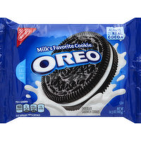 Oreo Cookies, Sandwich, Chocolate, 14.3 Ounce