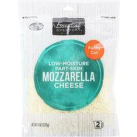 Essential Everyday Cheese, Mozzarella, Part-Skim, Low-Moisture, Fancy Cut, 8 Ounce