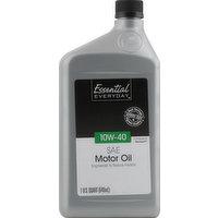 Essential Everyday Motor Oil, SAE 10W-40, 1 Quart