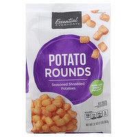 Essential Everyday Potato Rounds, Seasoned Shredded Potatoes, 32 Ounce