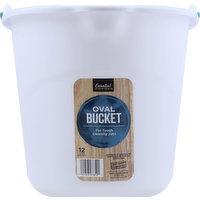 Essential Everyday Bucket, Oval, 12 Liter, 1 Each