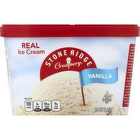 Stoneridge Creamery Ice Cream, Vanilla, 1.5 Quart
