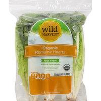 Wild Harvest Romaine Hearts, Organic, 3 Each