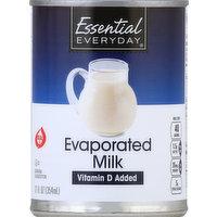 Essential Everyday Milk, Evaporated, 12 Ounce
