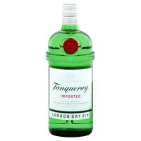 Tanqueray London Dry Gin, Imported, 1 Litre