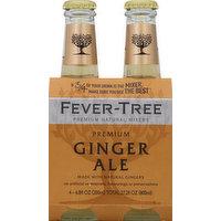 Fever-Tree Ginger Ale, Premium, 4 Each