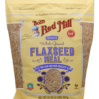Bob's Red Mill Flaxseed Meal, Whole Ground, Premium, 32 Ounce