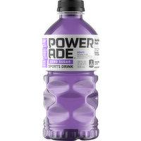Powerade Sports Drink, Zero Sugar, Grape, 28 Ounce