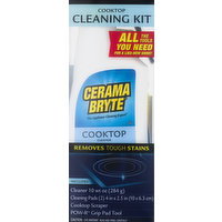 Cerama Bryte Cleaning Kit, Cooktop, 1 Each