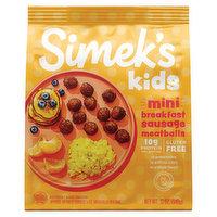 Simek's Meatballs, Mini, Breakfast Sausage, 12 Ounce