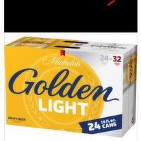 Michelob Golden Draft Light 24 Pack Cans, 16 Fluid ounce