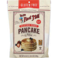 Bobs Red Mill Mix, Pan Cake, Gluten Free, 24 Ounce