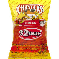 Chester's Corn & Potato Snacks, Flamin' Hot Flavored, Fries, 5.25 Ounce