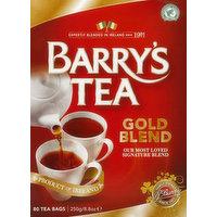 Barry's Tea Tea, Gold Blend, BAgs, 80 Each