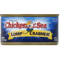 Chicken of the Sea Crabmeat, Lump, 6 Ounce