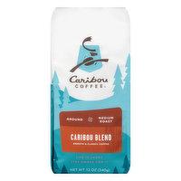 Caribou Coffee Coffee, Ground, Medium Roast, Caribou Blend, 12 Ounce