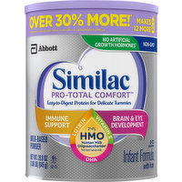Similac Infant Formula, Milk-Based Powder, with Iron, 0-12 Months, 29.8 Ounce