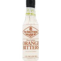 Fee Brothers Bitters, Orange, West Indian, 5 Ounce