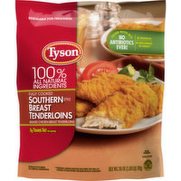 Tyson Chicken Breast Tenderloins, Fully Cooked, Southern Style, 25 Ounce