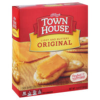 Town House Crackers, Oven Baked, Original, 13.8 Ounce