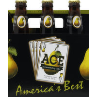 ACE Cider, Fermented, Perry, 6 Each