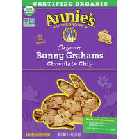 Annie's Bunny Grahams, Organic, Chocolate Chip, 7.5 Ounce